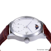 Analogue Automatic Watches with Leather Strap Waterproof